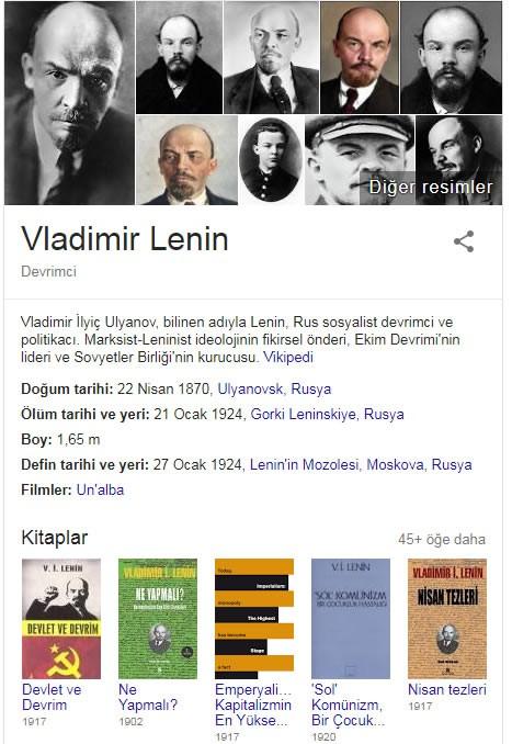 Lenin Kişisel Hayatı,Vladimir Lenin Kimdir,Vladimir Lenin Biyografisi,lenin kiye,Vladimir Lenin Kitapları,Vladimir Lenin Sözleri,Vladimir Lenin sosyalizm,Vladimir Lenin Türkler hakkında bilgisi,Vladimir Lenin Kürtler hakkında,Vladimir İlyiç Lenin